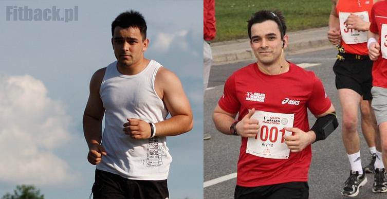 przed i po rozpoczęci biegowej przygody.. warto było?